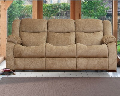 Peachtree Fabric 3 Seater  Sofa(Finish Color - Beige)