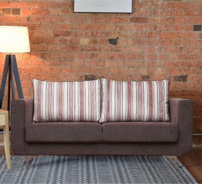 Peachtree Fabric 3 Seater  Sofa(Finish Color - Grey)