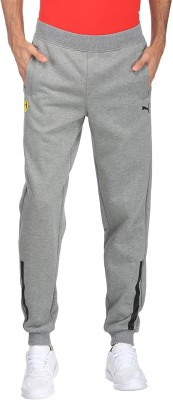 Puma Solid Men Grey Track Pants at flipkart