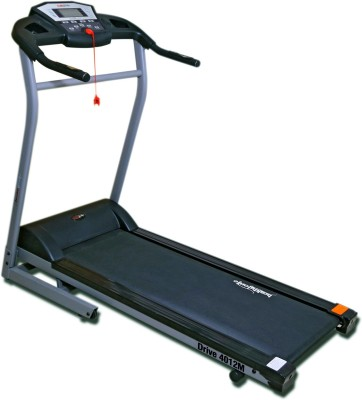 Healthgenie Drive 4012M Motorized Treadmill with Silicone Lubricant 550ml, Manual Incline & Max Speed 14 Kmph Treadmill