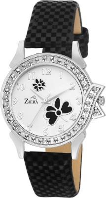 Ziera ZR8050 Special Dezined Black Analog Watch For Women