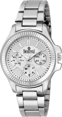 Swisstyle SS-LR635-WHT-CH  Analog Watch For Women
