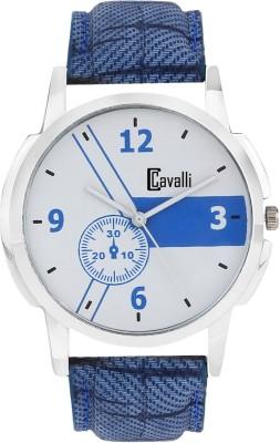 Cavalli CW 410 Exclusive White Dial Analog Watch   For Men Cavalli Wrist Watches