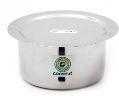 Coconut Tope & Lid Induction Bottom Cookware Set(Stainless Steel, 2 - Piece) at flipkart