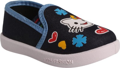 WINDY Boys & Girls Slip on Casual Boots(Blue)  available at flipkart for Rs.199