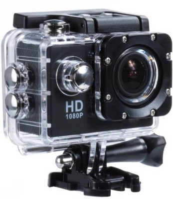 ShutterBugs 980 Action_ Camera Sports and Action Camera(Black 12 MP)