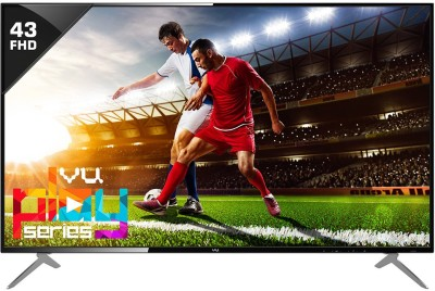 Vu 109cm (43 inch) Full HD LED TV(43D6545)