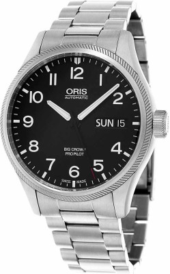 Oris 01 752 7698 4164-07 8 22 19 Aviation Analog Watch For Men