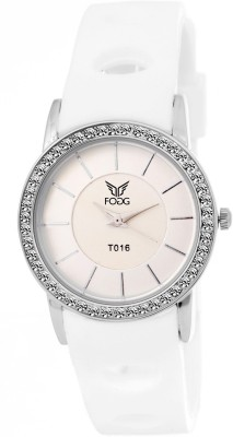 Fogg 3038-WH Modish Analog Watch For Women
