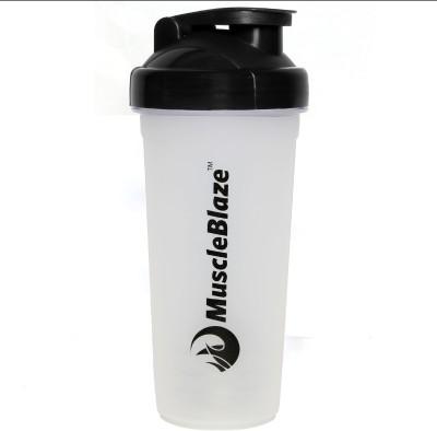 MuscleBlaze Protein Shaker 650 ml Shaker(Pack of 1, Black)