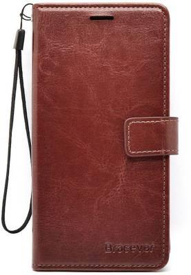 Bracevor Flip Cover for Redmi Note 4