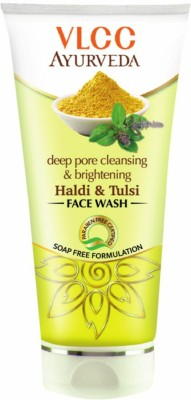 VLCC Deep Pore Cleaning & Brightening Haldi & Tulsi Face Wash (150ML)