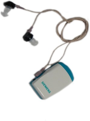 Siemens Amiga Pocket Machine 172 For Both Ear Hearing Aid(White, Blue)  available at flipkart for Rs.2535