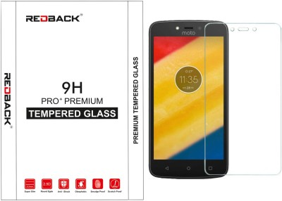 Redback Tempered Glass Guard for Motorola Moto C Plus