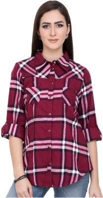 Go India Store Women Printed Casual Multicolor Shirt  available at flipkart for Rs.299