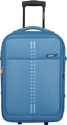 Safari Rail Expandable  Check in Luggage   25 inch Blue