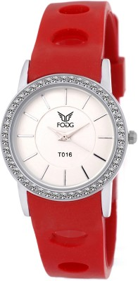 Fogg 3038-RD Modish Analog Watch For Women
