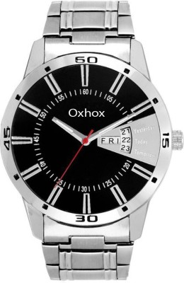 Oxhox Mac Earth Stood DAY AND DATE SEQUEL Analog Watch   For Men Oxhox Wrist Watches