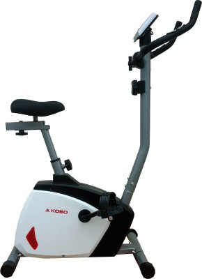 Kobo Magnetic Home Gym Upright Stationary Exercise Bike(White, Black) at flipkart