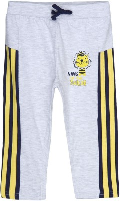 Chirpie Pie by pantaloons Track pant For Boy's(Grey Pack of 1)  available at flipkart for Rs.149