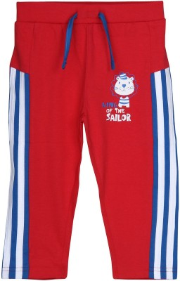 Chirpie Pie by pantaloons Track pant For Boy's(Red Pack of 1)  available at flipkart for Rs.149
