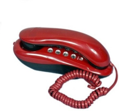 vepson KX-T333 Greco Button Telephone Corded Landline Phone(Red)  available at flipkart for Rs.435