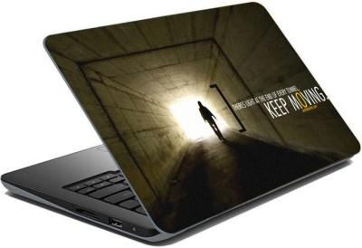 ezyPRNT Sparkle Laminated Motivation Quote z (15 to 15.6 inch) Vinyl Laptop Decal 15