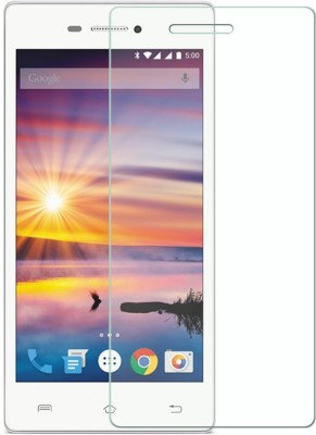 S-Model Tempered Glass Guard for Intex Cloud 4G Smart(Pack of 1)