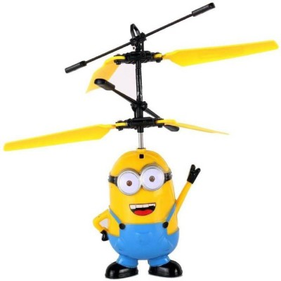 Shy Products Rechargeable Flying Minion Helicopter (Yellow)(Yellow)  available at flipkart for Rs.460