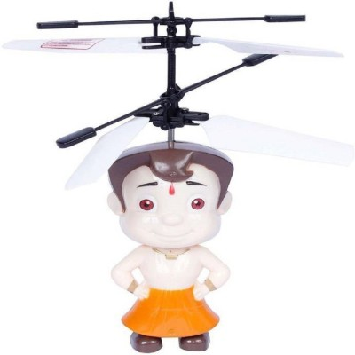 Shy Products Rechargeable Flying Chota Bheem Helicopter(Multicolor)  available at flipkart for Rs.498