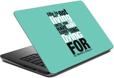 ezyPRNT Sparkle Laminated Motivation Quote n (15 to 15.6 inch) Vinyl Laptop Decal 15