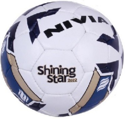 Nivia Shining Star-2022 Football - Size: 5(Pack of 1, Multicolor)  available at flipkart for Rs.890
