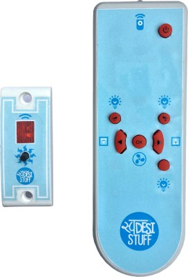 Swadesi Stuff 3 lights and 1 fan with Dimmer Screw Type 5 One Way Electrical Switch(Pack of 1 Number of Switches - 4)