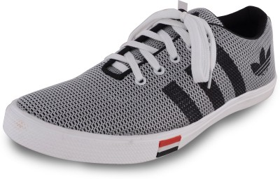 Deekada Canvas Shoes For Men(Grey)