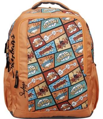 b00c9b1a9b 66% OFF on Skybags Footloose Helix Plus 01 30 L Backpack(Orange) on  Flipkart