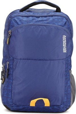 American Tourister AMT Aero 21 L Laptop Backpack(Blue)