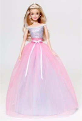 Barbie Barbie Birthday Wishes Doll(Multicolor)