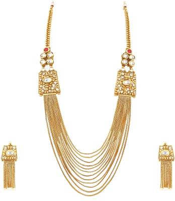 Divastri Alloy Jewel Set