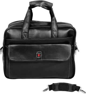 Da Tasche 15 inch Laptop Messenger Bag Black