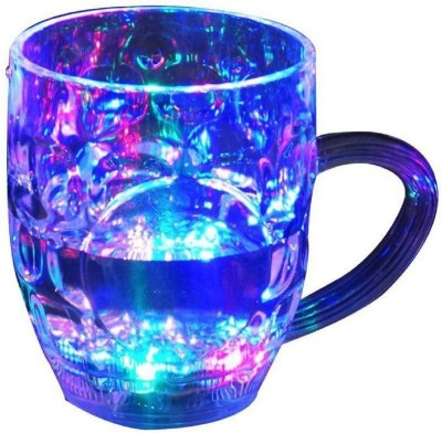 BASAVA LED Flashing 7 Colour Changing Liquid Activated Plastic Plastic Mug(200 ml)  available at flipkart for Rs.238