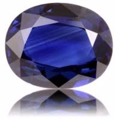 AJ AJ Retail Blue Sapphire / Neelam 9.50 Ratti Lab Certified Sapphire Stone Sapphire Stone at flipkart