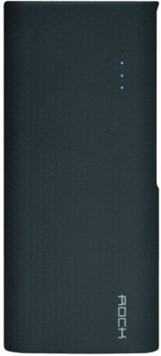 Rock ITP-105 10000 mAh Power Bank(Black, Lithium-ion)