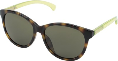Calvin Klein Rectangular Sunglasses(Silver) at flipkart