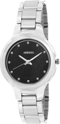 Abrexo ABX5010-BLACK Modish Analog Watch For Women