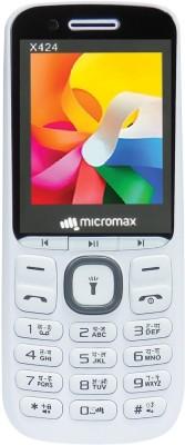 Micromax X424(White & Grey)