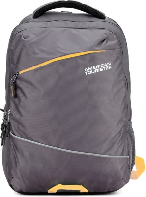 American Tourister AMT Aero 21 L Laptop Backpack(Grey)