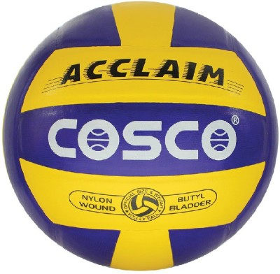Cosco ACCLAIM Volleyball - Size: 4(Pack of 1, Multicolor)