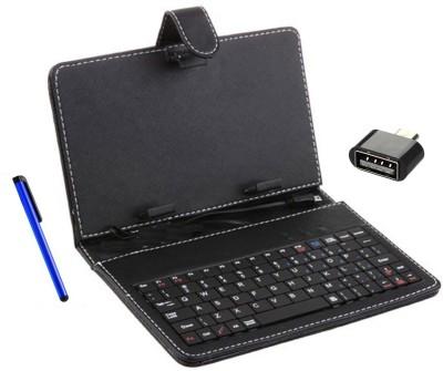 Krishty Enterprises AG Chrome Go-Tab Wired USB Tablet Keyboard(Black)