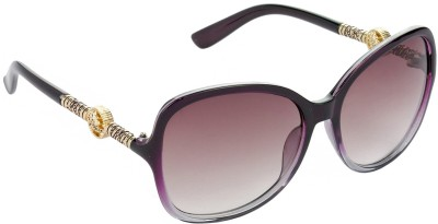 HRINKAR Over-sized Sunglasses(Brown)