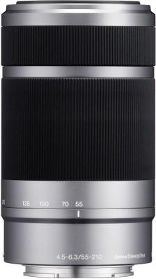 Sony E 55-210mm f/4.5-6.3 OSS E-Mount Silver Lens(Silver, 230 mm) 1